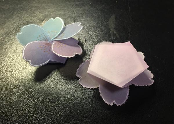 桜のお香袋