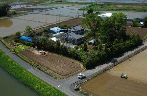 トトロのお家の田植え風景