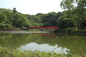 新緑の岩槻公園