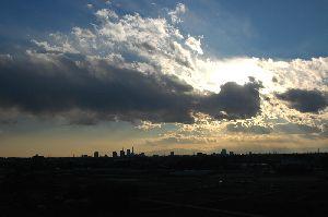 2008年1月13日の黄昏
