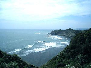 外房から見た太平洋