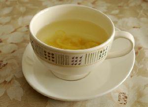 熱々の柚子ハチミツ茶