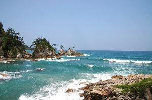 美しい浦富海岸