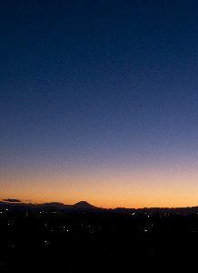 2009.11.03の日没