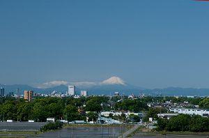 2010.5.13日の富士山