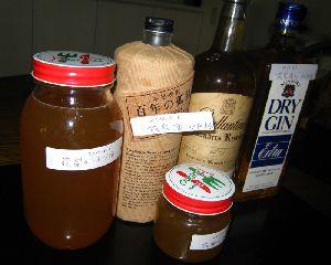 花梨酒と花梨の蜂蜜漬けが出来ました!
