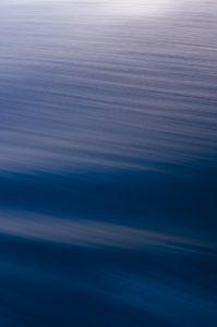 太平洋の波紋6月26日AM4:03撮影
