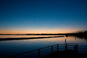 日の出前の静寂・・・