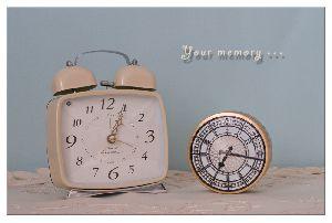 思い出を刻む時計・・・