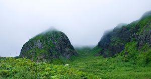 礼文島桃岩