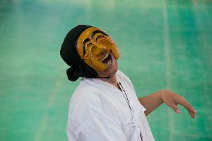 重要無形文化財第69号に指定された河回別神グッ仮面劇