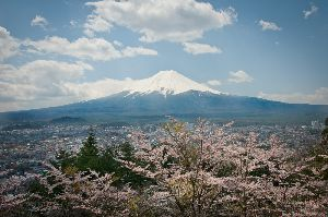 稜線の美しさは世界一です!2014.4.23撮影