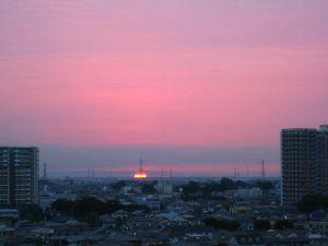 2014.8.8 夜明け