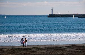 江ノ島海岸(2015.1.23)