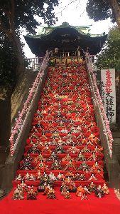 愛宕神社の大雛壇