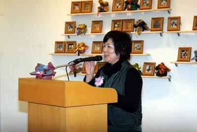 日本3Dシャドーボックスアート協会代表挨拶 開高悦子