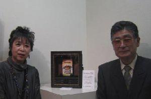 イラストレーターうさみのぶこさんと当会の制作者・中村忍