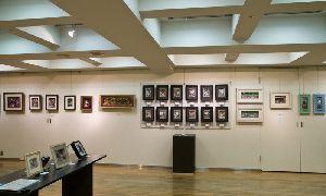 伊東屋9階ギャラリー右壁面