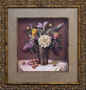 Flowers in an Indian Vase